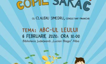"""Biblioteca Județeană """"Lucian Blaga"""" Alba anunță lansarea unui nou proiect - Copil bogat, copil sărac"""