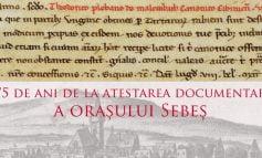 Sebeșul la ceas aniversar: 775 de ani de atestare documentară a orașului