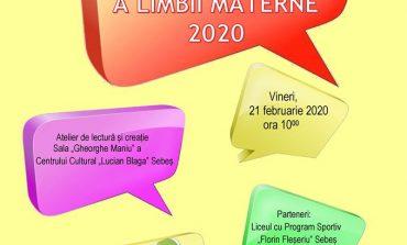 ASTĂZI: Ziua Internațională a Limbii Materne marcată la Sebeș