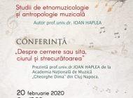 """Prof.univ.dr. Ioan Haplea prezent la Biblioteca Județeană """"Lucian Blaga"""" Alba cu conferință și lansare de carte de etnomuzicologie și antropologie muzicală"""