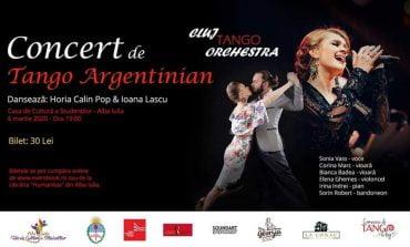 Vineri: Concert de Tango Argentinean la Alba Iulia