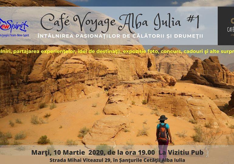ASTĂZI: Café Voyage Alba Iulia, la Czech In La Vizitiu