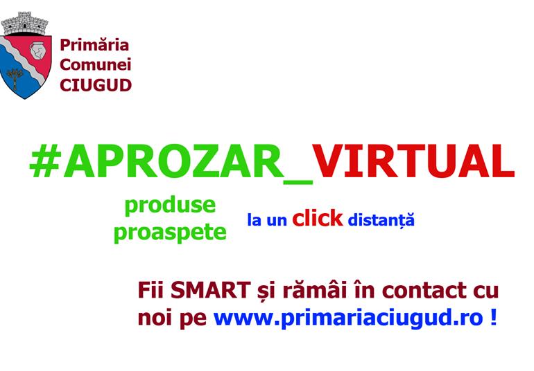 """""""Aprozarul virtual"""", la Ciugud. Ajutor pentru producătorii care nu pot vinde legume în piețe"""