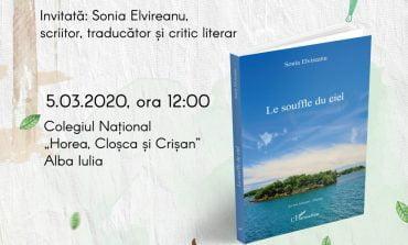 """Colegiul Național """"Horea, Cloșca și Crișan"""", gazda Caravanei literare scriitori în școală a Bibliotecii Județene """"Lucian Blaga"""" Alba"""