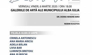 """Vineri: Vernisajul expoziției """"Blank 2"""", la Galeriile de Artă din Alba Iulia"""