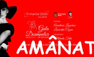 Evenimentul Gala Doamnelor de succes, ediția a IV-a, AMÂNAT