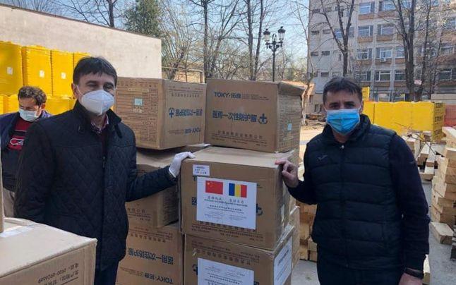 Echipamentele medicale de protecţie donate de Provincia Gansu din China au ajuns la Alba Iulia