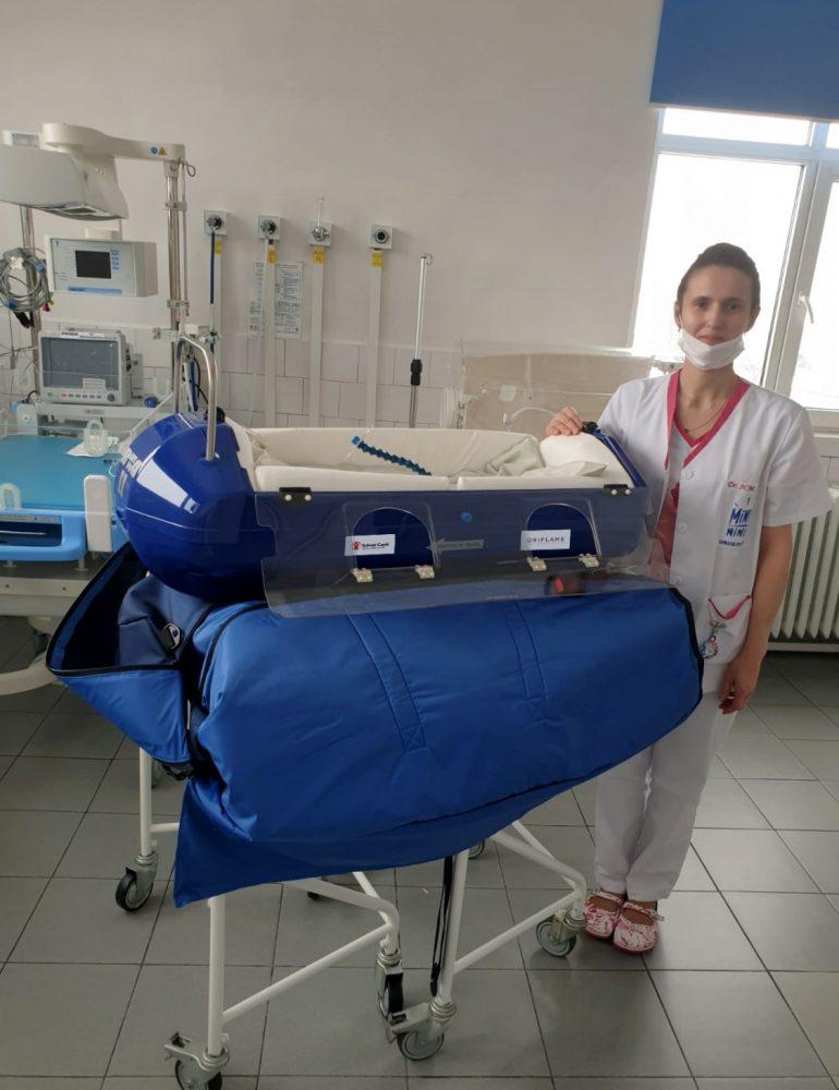 Salvați Copiii, cu sprijin Oriflame, va echipa două spitale care vor prelua cazurile pediatrice confirmate de SARS-CoV2