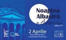 Noaptea Albastră a Autismului 2020. Pe 2 aprilie România se iluminează în albastru pentru autism
