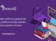 O echipă de tineri lansează TeachU, prima platformă de meditații gratuite din România