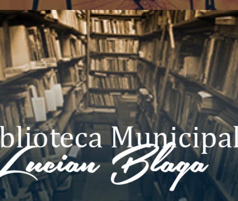 """Biblioteca Municipală """"Lucian Blaga"""" Sebeș își reia parțial activitatea din data de 18 mai 2020"""