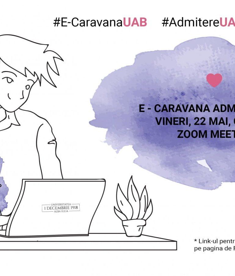 """În sprijinul elevilor de liceu și al părinților acestora, Universitatea """"1 Decembrie 1918"""" din Alba Iulia organizează, săptămânal, E-Caravana Admiterii 2020"""