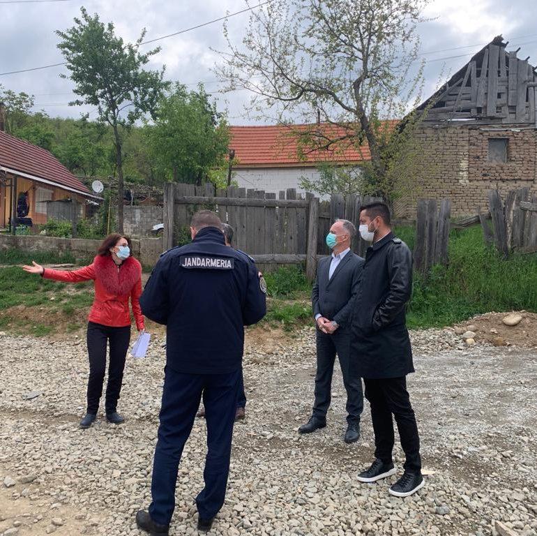 DSP Alba explică situația focarului din Săliștea Deal