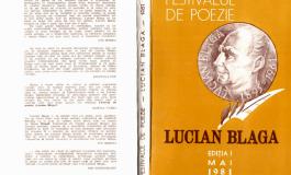 """Publicațiile Festivalului """"Lucian Blaga"""" Sebeș, accesibile în format digital"""