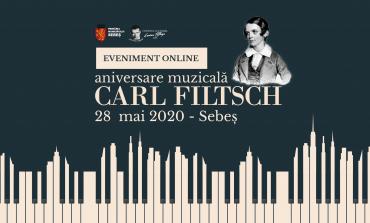 """28 MAI: """"Carl Filtsch - aniversare muzicală. 190 de ani de la nașterea muzicianului genial al Sebeșului"""". Program"""