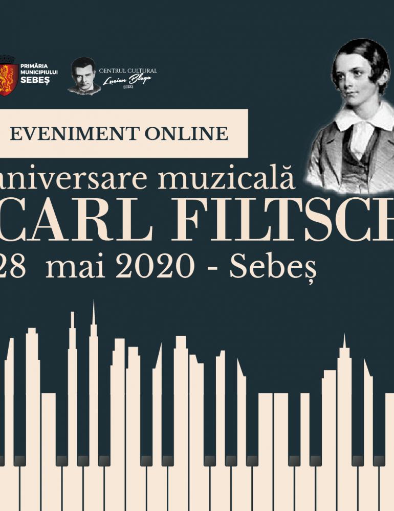 """28 MAI: """"Carl Filtsch – aniversare muzicală. 190 de ani de la nașterea muzicianului genial al Sebeșului"""". Program"""
