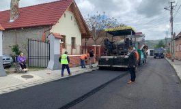 Patru străzi din Sebeș, în modernizare: str Crișan - Sebeș, Ulița de Mijloc și Ulița de Sus - Lancrăm, str Mihai Eminescu - Petrești