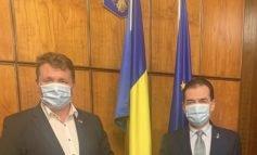 Primarul Dorin Nistor, întâlniri maraton la Guvernul României