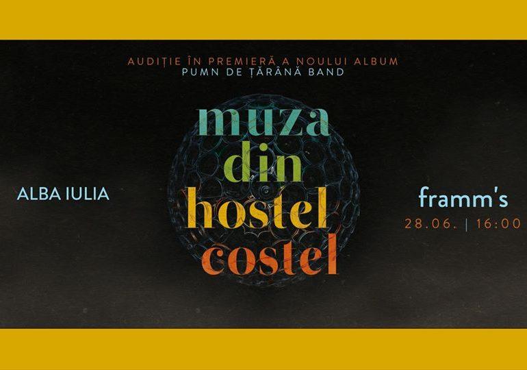 ASTĂZI: Muza din Hostel Costel, audiție în premieră la Framm's