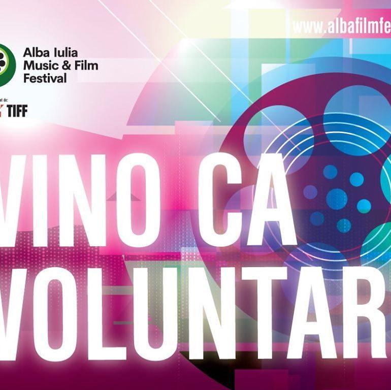 Alba Iulia Music & Film Festival caută voluntari. Detalii despre înscriere