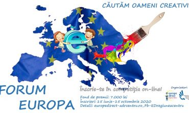FORUM EUROPA  - Competiție on-line