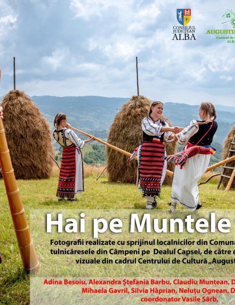 """Târgul de Fete de pe Muntele Găina, sărbătoare reînviată sub obiectivul aparatului de fotografiat în cadrul expoziției de fotografie etnografică denumită """"Hai pe Muntele Găina"""""""