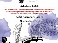 """Peste 1200 de candidați s-au înmatriculat la Universitatea """"1 Decembrie 1918"""" din Alba Iulia"""