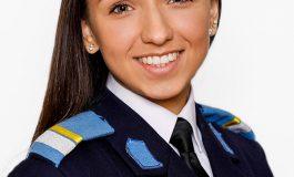 Denisa Anghel, absolventa cu cea mai mare medie de admitere la specializarea Comunicații pentru apărare și securitate