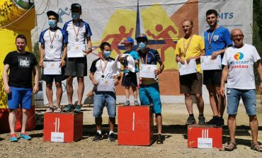 Echipa CS Unirea Alba Iulia, locul 1 la Campionatul Național Echipe Elită la Orientare