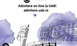 UAB pregătește cea de-a doua sesiune de admitere - septembrie 2020