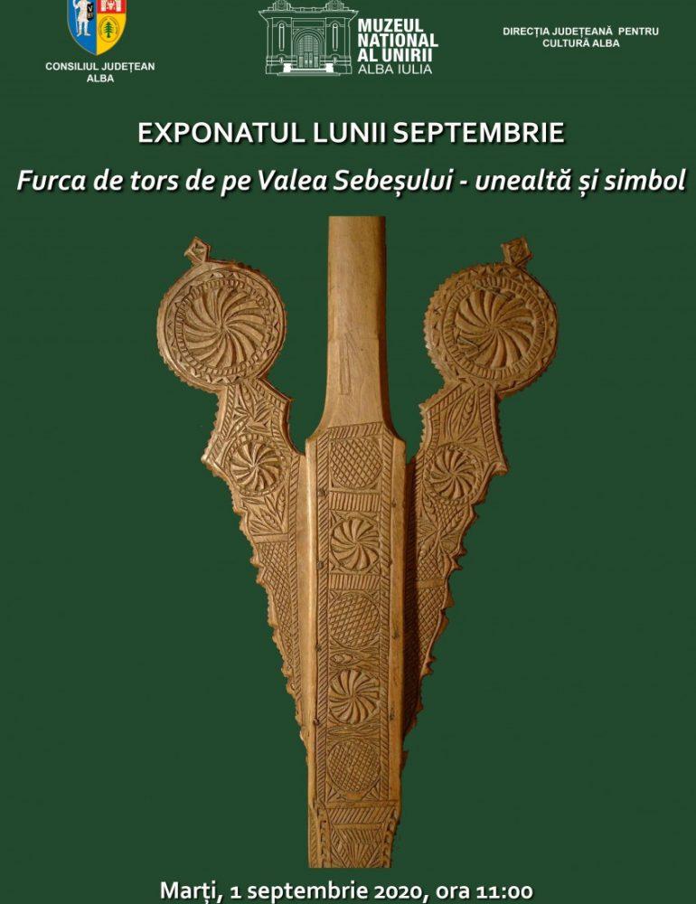 Marți: Exponatul lunii septembrie, la Muzeul Național al Unirii din Alba Iulia