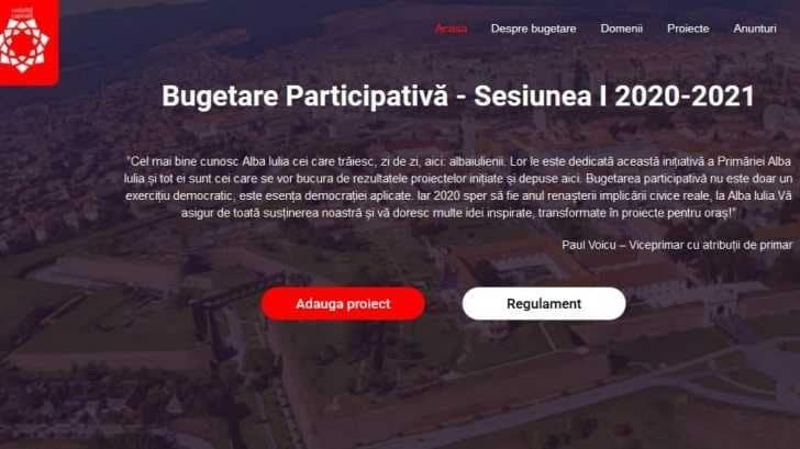 Din 1 septembrie, bugetare participativă la Alba Iulia