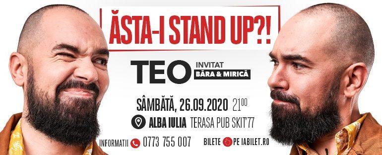 ASTĂZI: TEO cu Băra și Mirică vă așteaptă cu un show de stand-up comedy la Pub Skit'77