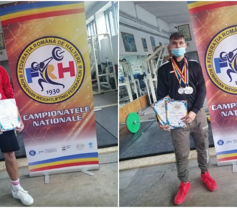 Trei medalii de argint și două de bronz pentru halterofilii CS Unirea Alba Iulia, la Campionatul Național de Juniori
