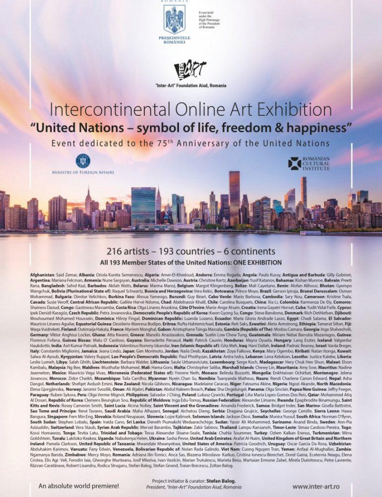 România marchează o premieră mondială pentru arta contemporană