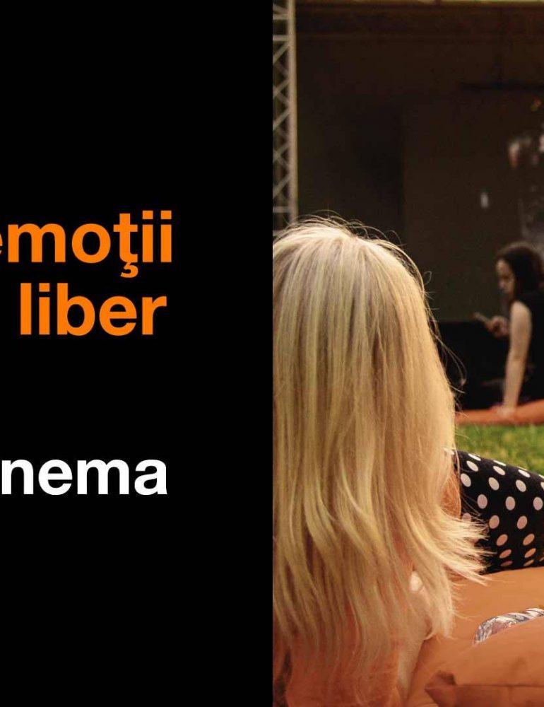 Orange Pop-Up Cinema, în Cetatea Alba Carolina