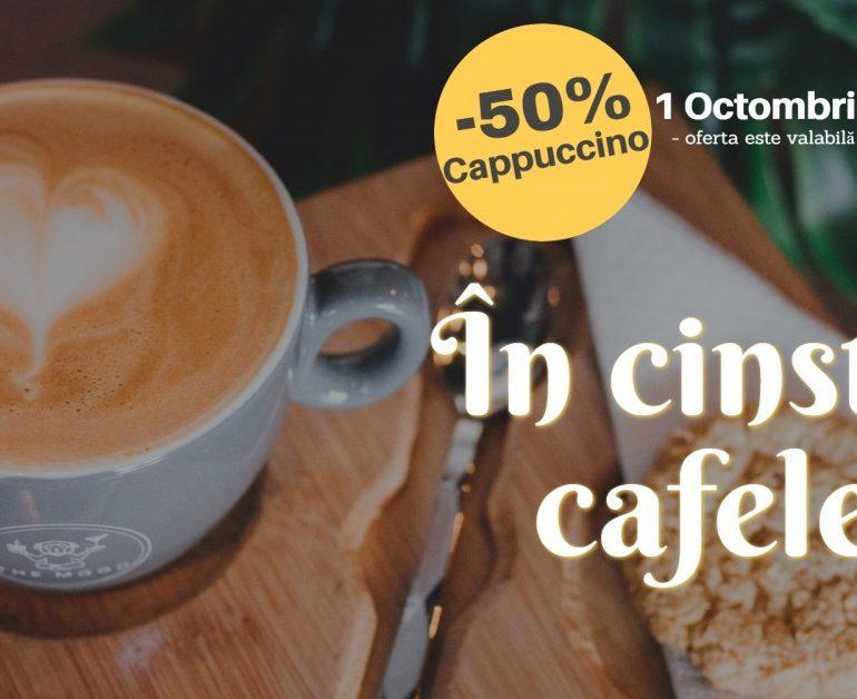 Ziua internațională a cafelei, marcată la cafeneaua The Mood