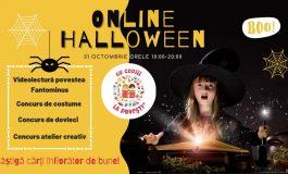 Sâmbătă: Online Halloween organizat de Asociația Cu copiii la povești