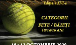 """10-12 octombrie: """"Cupa Muhlbach"""" la tenis de câmp, ediția a XVI-a, la Sebeș"""