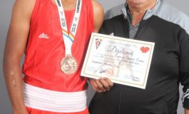 Boxer legitimat la CS Unirea Alba Iulia – medalie de bronz la Campionatul Național U22