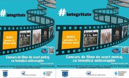 Concurs de filme de scurt metraj cu tematică anticorupție
