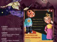 """Teatrul de Păpuși """"Prichindel"""" participă la Festivalul Internațional de Animație """"Sub masca lui Merlin"""" Timișoara"""
