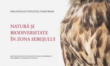 """Proiect inedit al Municipiului Sebeș: Expoziția temporară """"Natură și biodiversitate în zona Sebeșului"""""""