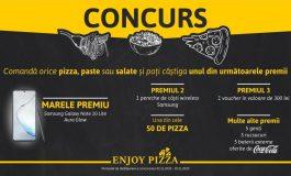 Enjoy Pizza își premiază clienții. Vezi cum poți participa la concurs și ce poți câștiga