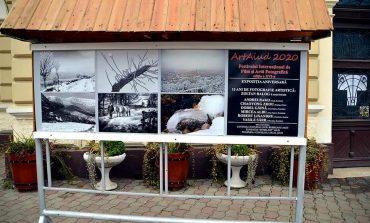 Expoziție stradală eveniment, la Aiud