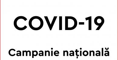 Campanie națională de informare COVID19