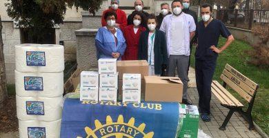 Rotary Club Alba Iulia Civitas Solis - Împreună împotriva coronavirusului