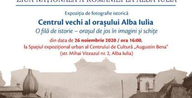 """Centrul de Cultură """"Augustin Bena"""" Alba: Expoziție cu fotografii de arhivă și ilustrații care surprind imagini din istoria orașului Alba Iulia"""