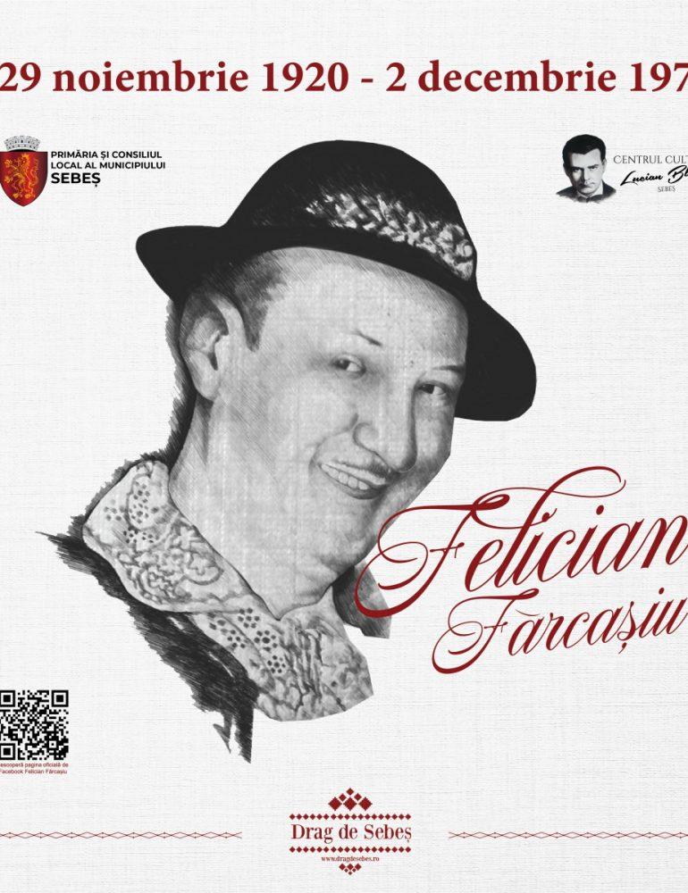 100 de ani de la nașterea lui Felician Fărcașiu, la Sebeș. Voce baritonală, drag de oameni și de viață!