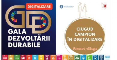 Comuna Ciugud - campioană națională în digitalizare la Gala Dezvoltării Durabile
